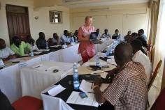 Training in Nakuru