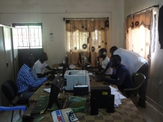 Radio Bakhita in Juba: The tiny newsroom
