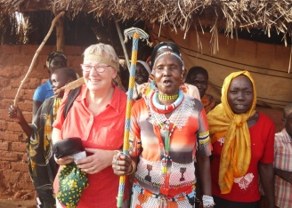 Honorary Nuba Woman